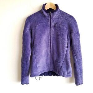 Patagonia Full Zip Fleece Jacket Polartec Elastic